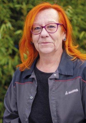 Hilde Tragler, Arbeiterkammerrätin und Betriebsrätin bei Magna Fahrzeugtechnik